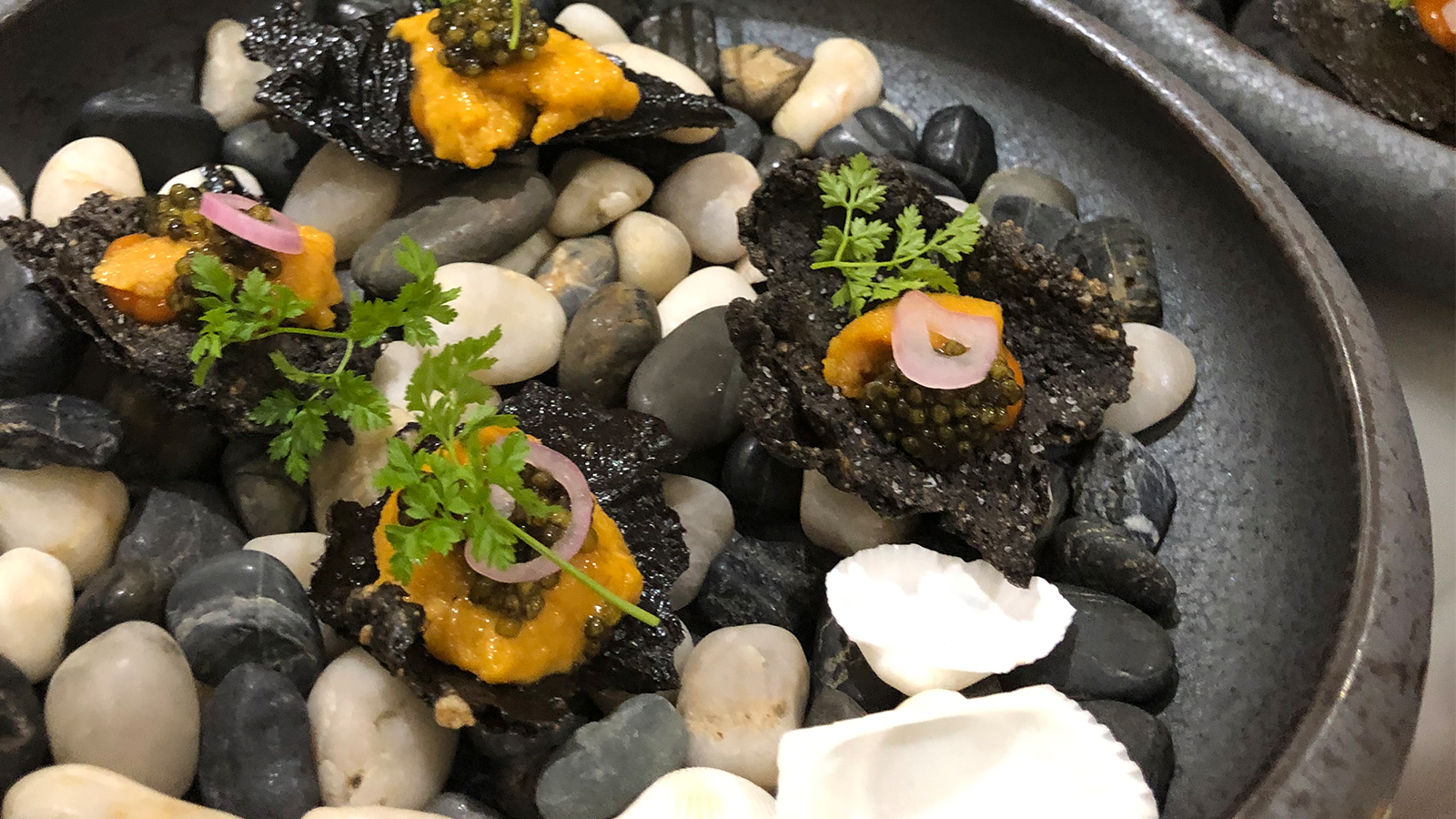 Caviar and Uni - Food Photography - Recipe Development